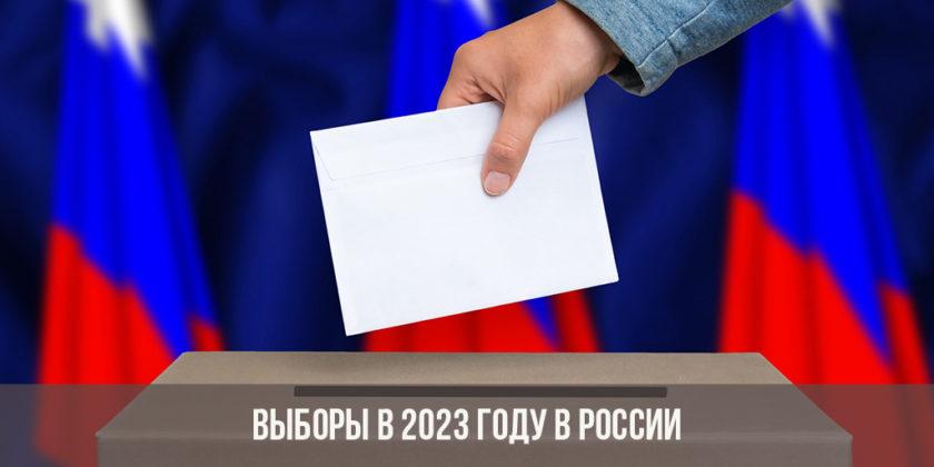 Какие выборы будут в 2023 году в России