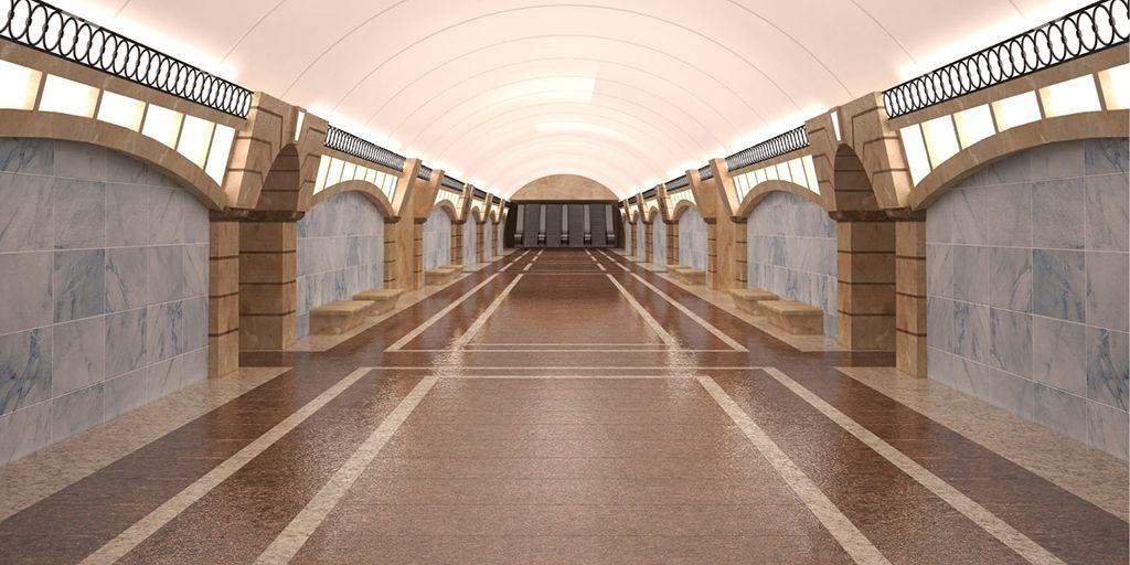 Станция метро «Горный институт»