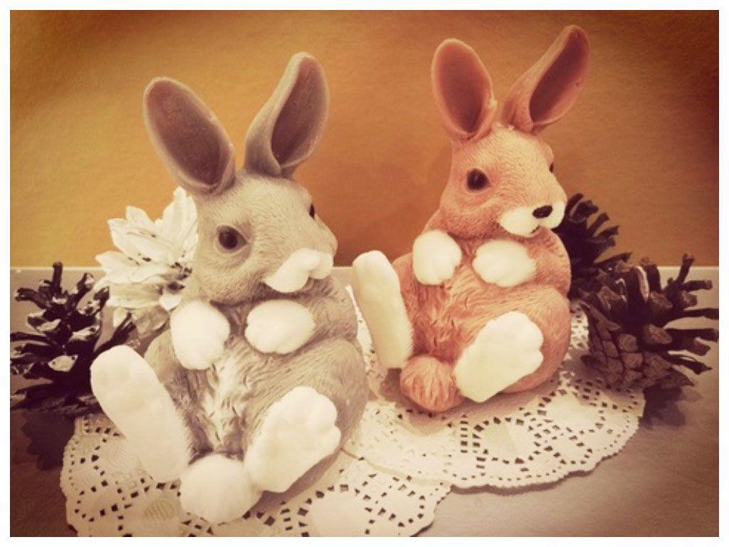Мыло в виде кролика
