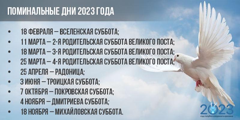 Православный календарь - посты на 2023 год