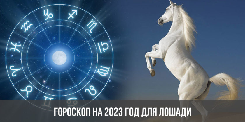 Гороскоп на 2023 год для Лошади