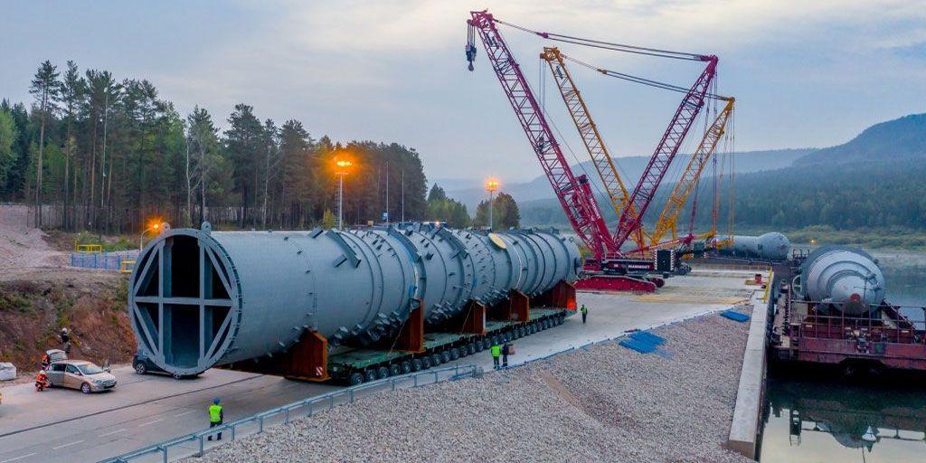 Оборудование для Иркутского завода полимеров