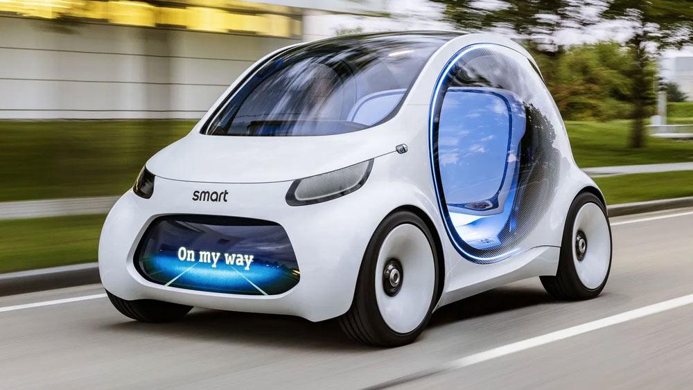 Smart Vision EQ fortwo 2023