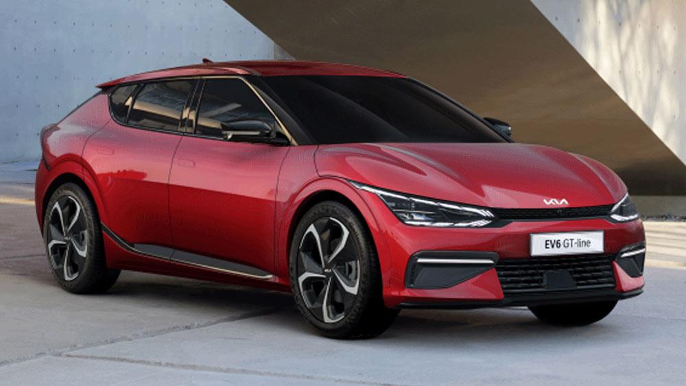 Kia EV6 2022-2023 года