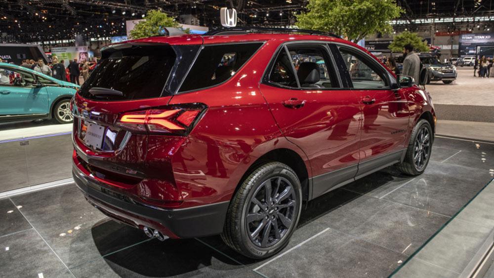 Equinox RS и другие автоновинки 2022-2023 года
