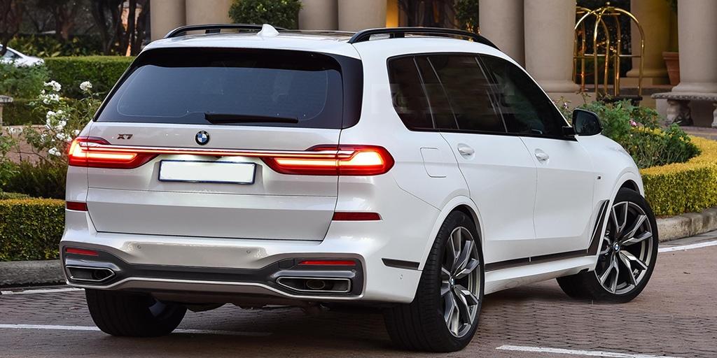 Белый BMW X7