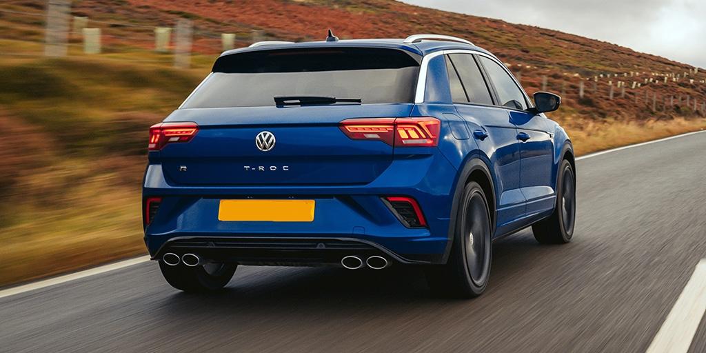 Синий VW T-Roc