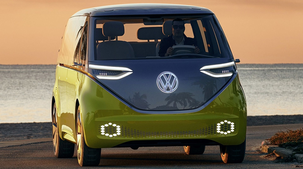 Машина VW ID buzz