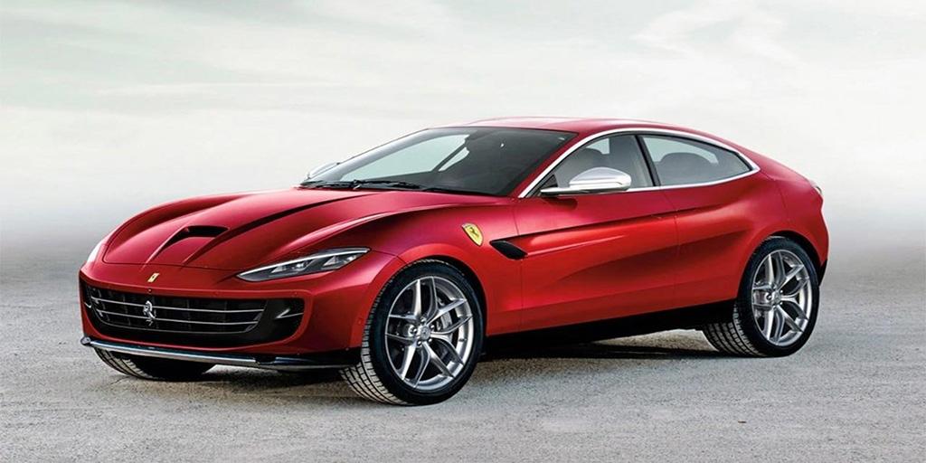 Внедорожник Ferrari Purosangue