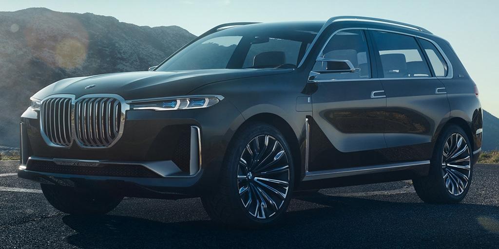 Внедорожник BMW X7