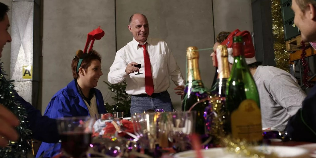 Новый год с коллегами