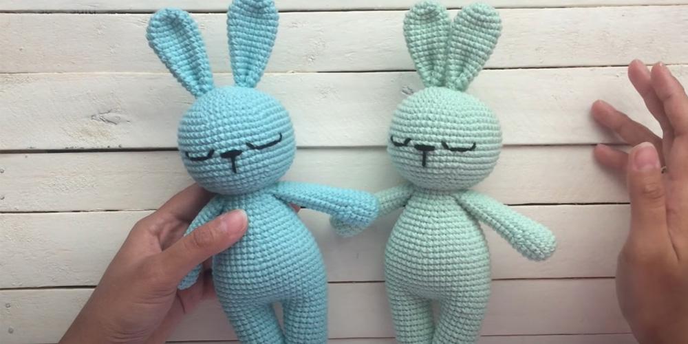 Кролик Соня крючком своими руками на 2023 год