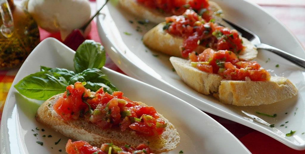 Бутерброды овощные