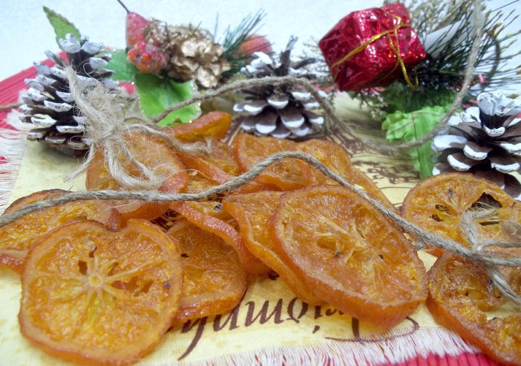 Сухофрукты для декора