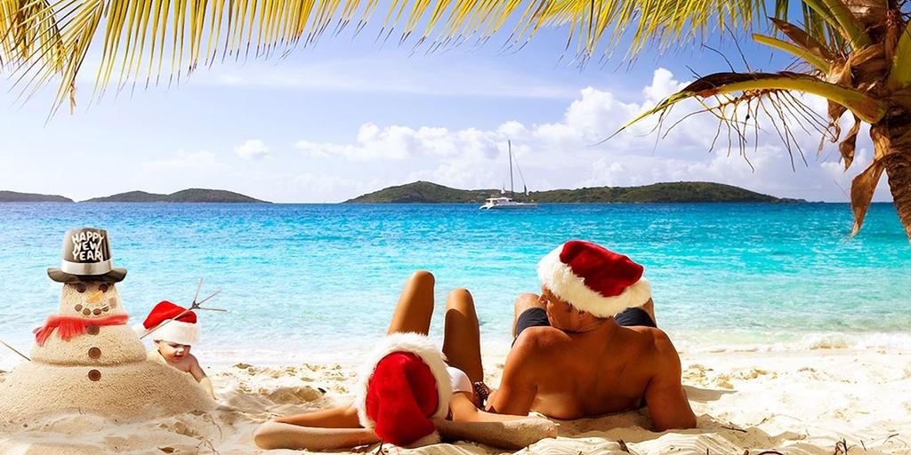 Новогодний отпуск на море