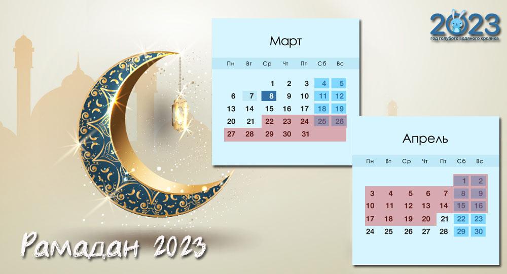 Рамадан 2023 | какого числа начало и конец